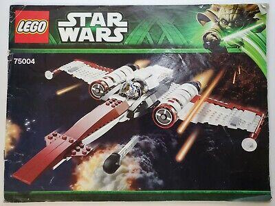 Lego 75004 Star Wars Z-95 Headhunter *Manual Only*