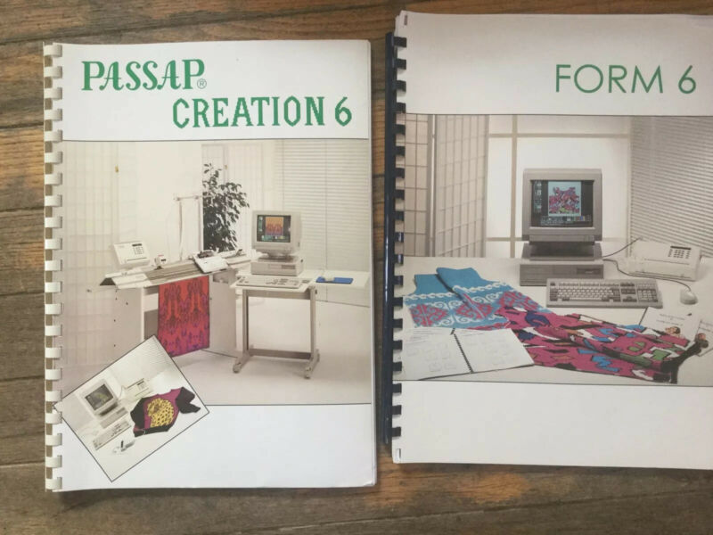 Vtg Passap Creation 6 Book And Form 6