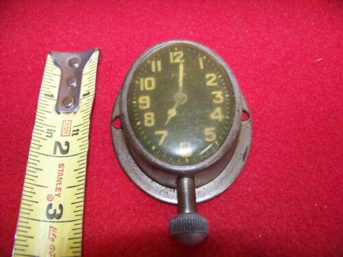 Antique( AUTO BRAND )Wind-Up Car Clock - Ford Chevy Studebaker Auburn1900s Rare