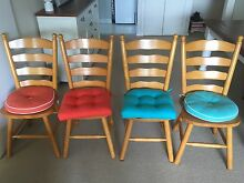 4 x dining chairs Mosman Mosman Area Preview