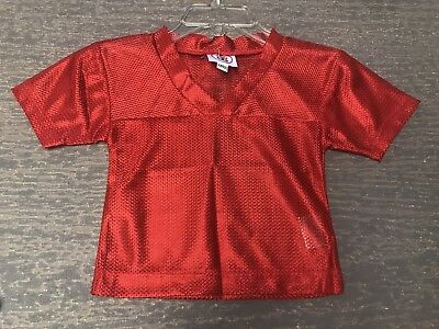 Blank Spirit Jersey ( 12 Months Unisex Blank Red Halloween Costume Football Spirit Jersey)