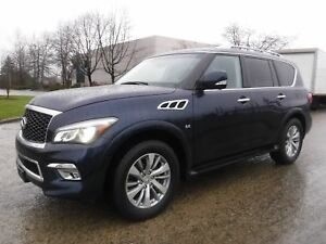 2017 Infiniti QX80 4WD 3rd row seating