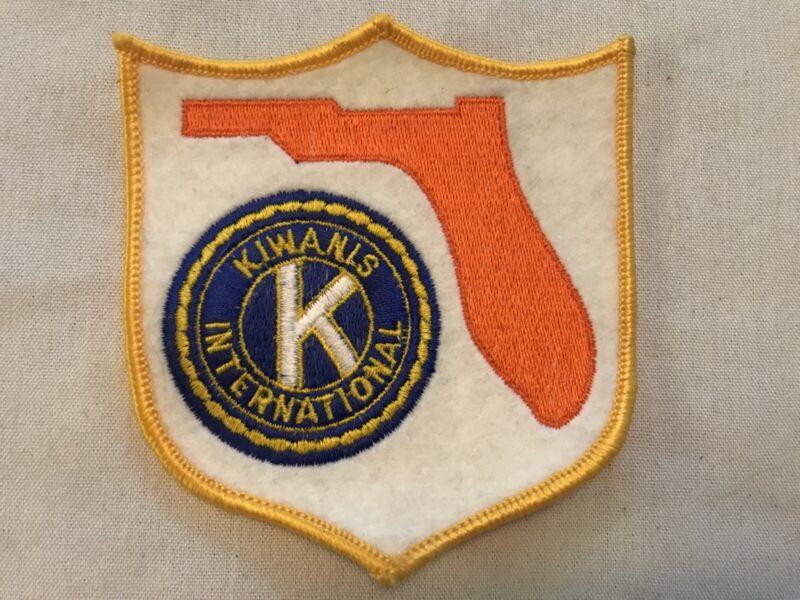 Florida Kiwanis International Vintage Uniform Patch