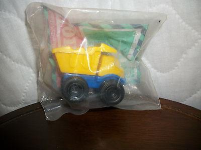 1994 Tonka McDonalds Happy Meal Toy Under 3 Dump Truck - Cake Topper *NEW IN PK*