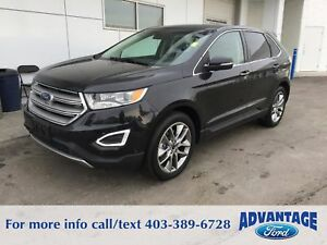 2015 Ford Edge Titanium Accident-free - AWD - Nav.