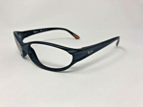 RAY-BAN JR Sunglasses Frame RJ9020S 100S/6P Black Matte/Orange Wrap AJ36