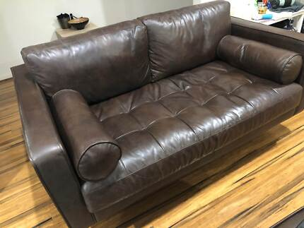 cool couches for guys. Perfect Couches Dare Gallery Brown Leather Couches  Sofas Gumtree Australia Nillumbik  Area  Doreen 1193434270 In Cool Couches For Guys T