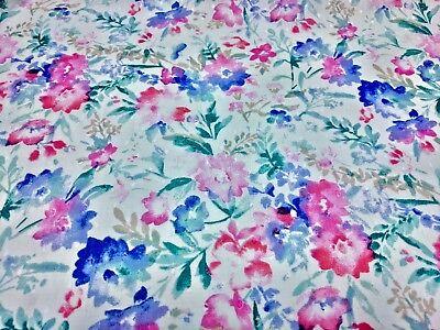 Swiss Dot Soft Petals Floral Print 100% Cotton 43