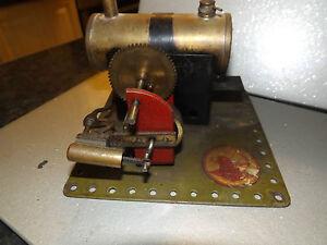 Bowman steam engine m158 1930's live steam toy