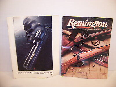 Remington 1991 Firearms Ammunition Clothing   Smith   Wesson Handguns Catalogs
