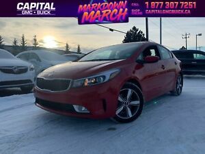 2018 Kia Forte LX+ | HEATED SEATS | REAR CAMERA | 49K KMS