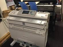 Ricoh Aficio MP W2400 Wide Format A0 Printer Melbourne CBD Melbourne City Preview