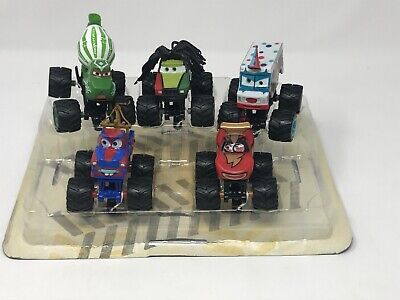 LOT 5 Disney Pixar Cars Monster Trucks Rasta I-Screamer McQueen Paddy Tormentor
