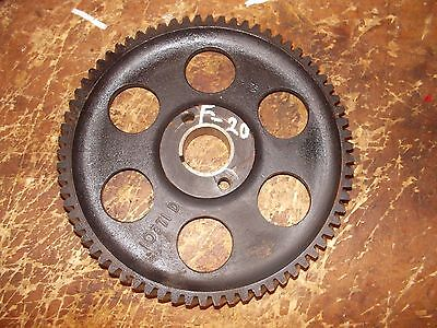 1938 Mccormick Farmall F20 Tractor Ih Engine Motor Camshaft Cam Drive Gear