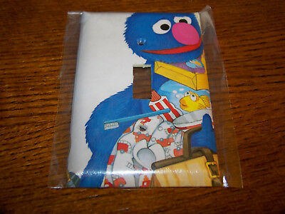 SESAME STREET GROVER LIGHT SWITCH PLATE #2