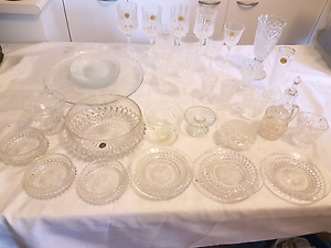BULK LOT OF CRYSTAL & GLASS WINE GOBLETS & MORE Gorokan Wyong Area Preview