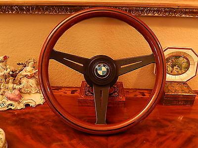 BMW E36  1991 - 99 Steering Wheel Nardi deep dish Wood NEW NOS