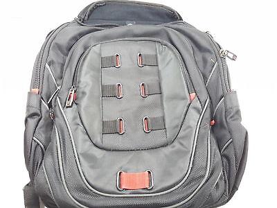 Samsonite Luggage Tectonic Backpack, Black-Red (BROKEN ZIPPER)