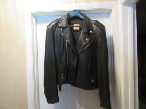 Black leather jacket Hard Rock Cafe