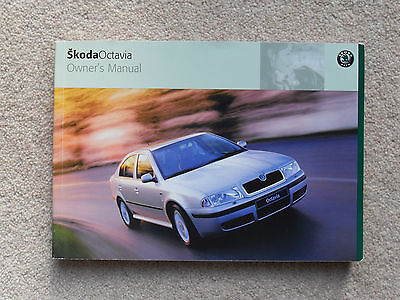 SKODA OCTAVIA OWNER'S MANUAL HANDBOOK 2002