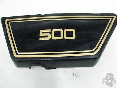 1978 <em>YAMAHA</em> XS500 LEFT SIDE COVER FRAME COVER 1A8 21711 00 R7