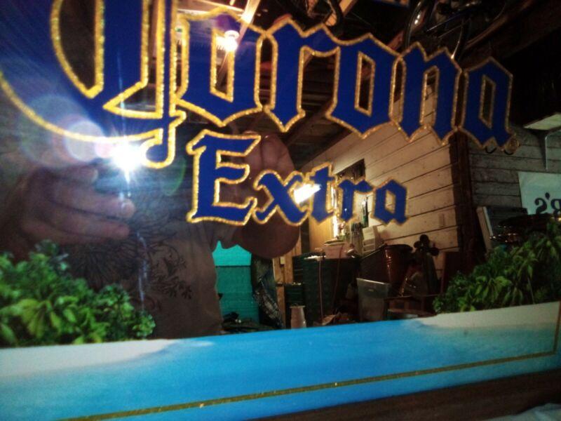 Corona Extra Framed Mirror - New Old Stock