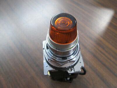 Cutler Hammer 10250T/91000T/E34 Amber Lighted  Push Button
