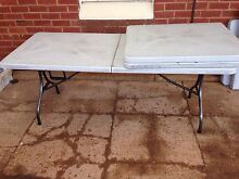 Fold up plastic trestle tables St Morris Norwood Area Preview