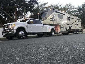 2018 Jayco NorthPoint 5th wheel  2017 Ford F-450 Dually