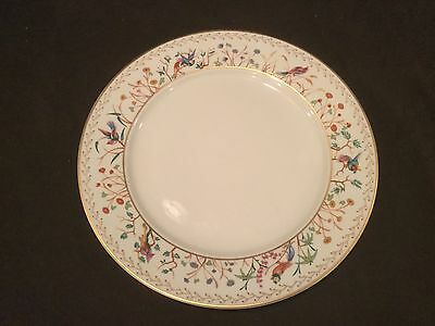 - DINNER PLATE EACH SOLD SEPARATELY TIFFANY & CO/ LIMOGES AUDUBON PATTERN - 6