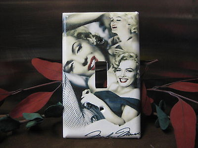 Light Switch Gfi Double Plate (Marilyn Monroe Light Switch Wall Plate Cover #5- Outlet Double GFI Cable Jack )