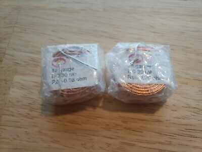 Jantzen Audio 0.30mh 18 Awg Air Core Inductor Crossover Coil- Pair Qty. 2