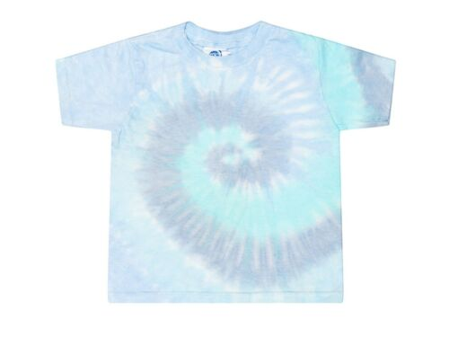 Lagoon Tie Dye Toddler Tee 2T 3T 4T Pre-Shrunk Cotton Gildan Short Sleeve