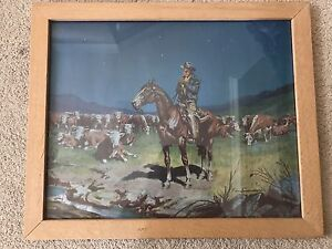 **Price reduced** Night Rider cowboy picture