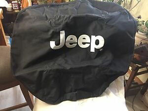 Jeep Wrangler TJ tire cover