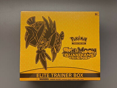 Guardians Rising Elite Trainer Booster Box Sun & Moon Pokemon Sealed TCG