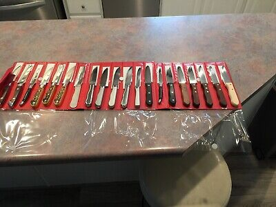 Walco Stainless Steel Hd Commercial Knives Salesman Samples 20 Knives Lk