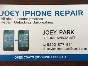 Joey iPhone Repairs -Quick reliable low price best services- Algester Brisbane South West Preview
