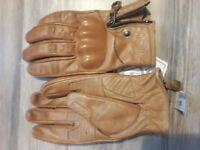 Motorradhandschuhe Biker Chopper Custom Handschuhe Retro Vintage Handschuhe XL