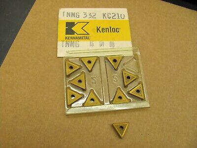 Kennametal Kenloc Carbide Inserts Tnmg 332 Grade Kc210 10 Pcs. New Open Box