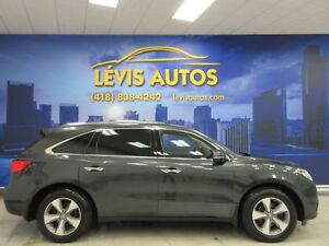 2016 Acura MDX SH-AWD CUIR CHAUFFANT TOIT OUVRANT 7 PASSAGERS