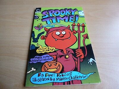 SPOOKY TIME BOOK  by DERI ROBINS SCHOLASTIC HALLOWEEN IDEAS BRAT PACK MONSTERS