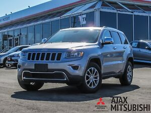 2015 Jeep Grand Cherokee Limited Leather / Bluetooth / Backupcam