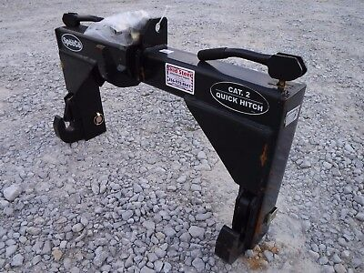 Speeco Category 2 Quick Hitch For 3 Point Hitch Tractor Attachment - Ship 149
