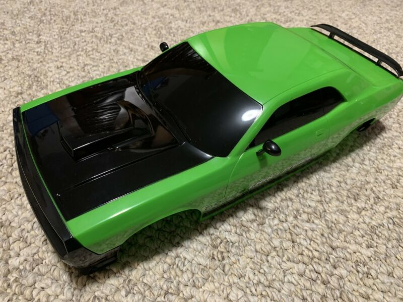 Lime Green Challenger 1/10 RC Car body