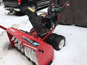 Snowblower trade for pool table taking offers