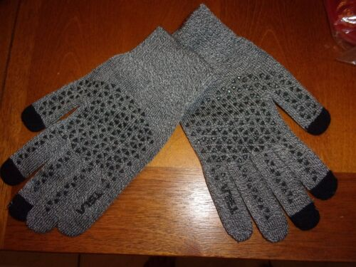 TSLA  Men Women Touch Screen Winter Gloves Texting Anti-Slip gray