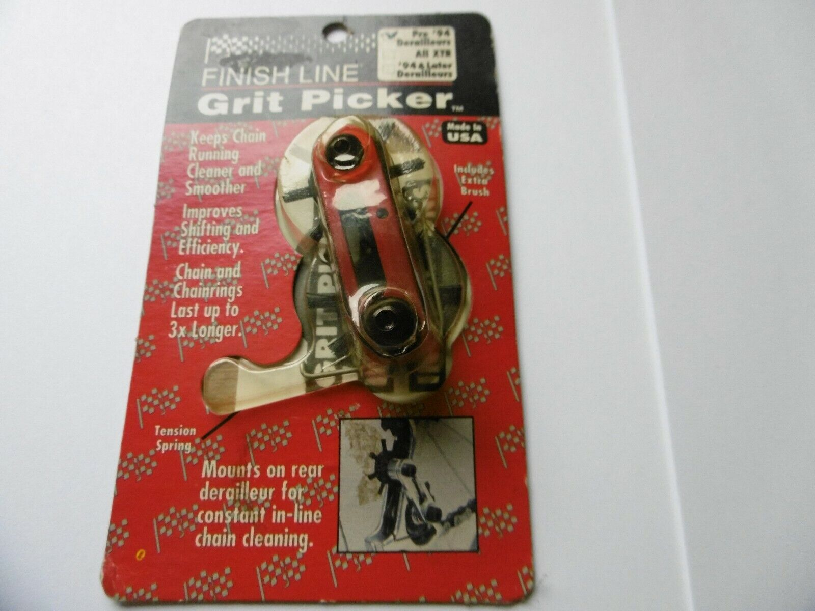 Grit Picker Mountain Bike Rear Derailleur Cleaner-Fits Pre 94 Derailleurs New