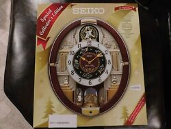 Seiko Melodies in Motion Wall Clock, QXM487BRH
