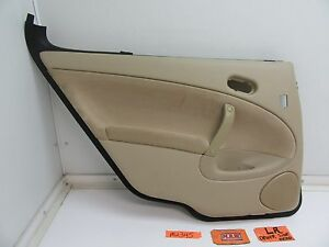 SAAB 9-5 SEDAN REAR BACK DOOR PANEL LEFT L LH LR DRIVER ARM REST PULL HANDLE